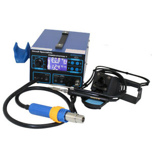 Circuit Specialists Deluxe Hot air Station Soldering Iron Etc