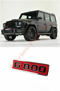 W463 Grille Badge Logo Emblem Brabus G800 Style Mercedes benz G class