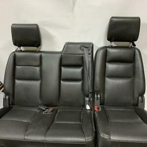 2010 Explorer Limited 2nd Row Rear Leather 60 40 Bench Seat Assembly