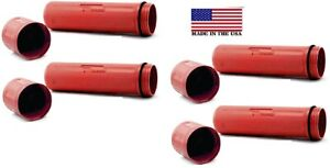 Rod Guard Stick Welding Electrode Storage Canister 14 Hold 10ibs Red Pk Of 4