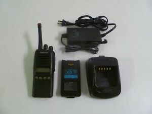 Kenwood Tk 2180 k 136 174 Mhz Vhf Two Way Radio W Ksc 32 Rapid Charger Tk 2180