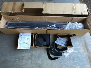 Mopar Tubular Side Steps Black Ram Truck 82208969 Ae Running Boards Dodge Oem