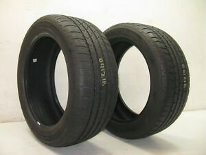 2 Used Cooper Lifeliner Gls 225 50 17 225 50 17 P225 50r17 Tire Tires 7 32 Pair