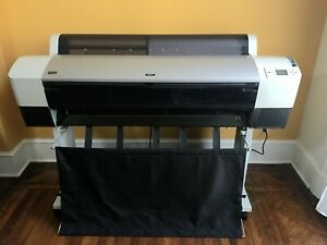 Epson 9800 Wide Format Printer Clean Printhead Nozzles
