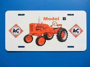 Allis Chalmers B License Plate