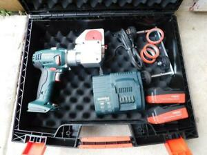 Wuko Clipper Typ 1020 C2a Battery Powered Sheet Metal Cutter Cutting Tool