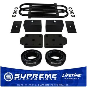 3 Full Suspension Lift Kit For 2wd Dodge Ram Ubolt Flip Kit Alignment Shims