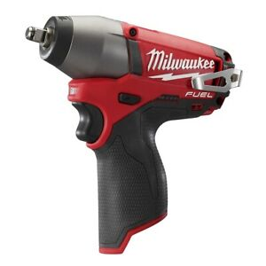 Milwaukee 2454 20 M12 Fuel 3 8 Impact Wrench Kit With 2 Mode Drive Control