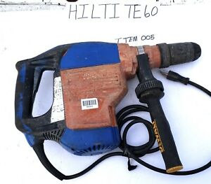 Hilti Te 60 Rotary Hammer Drill No Bits No Case No Chuck Works Great
