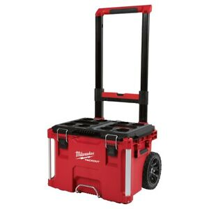 Milwaukee 48 22 8426 Packout Impact Resistant Rolling Modular Storage Tool Box