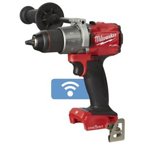 Milwaukee 2806 20 M18 Fuel Cordless 1 2 Brushless Hammer Drill With One key