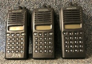 Kenwood Tk 370g 1 Uhf Radio Set Of 3 No Accessories Buy 1 To 3 Sets