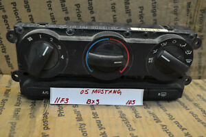 05 09 Ford Mustang Ac Heat Temp Control Switch 6r3319980aa Bx3 Panel 103 11f3