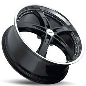 4 19 Tsw Wheels Jarama Gloss Black Rims b11