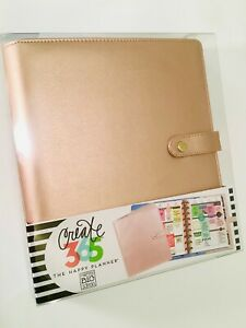 The Happy Planner Cover Rose Gold Classic Size Happy Planner Deluxe Cover Nib