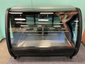 Curved Glass Front Display Torrey Refrigerator