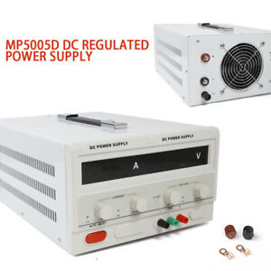 110v 5a Dc Power Supply Adjustable Variable Regulated Precision Digital Display