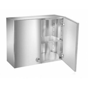 12 x30 Stainless Steel Food Truck Wall Cabinet