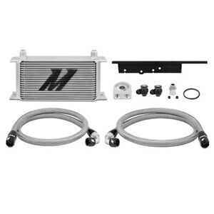 Mishimoto Oil Cooler Fits Nissan 350z 03 07 Infiniti G35 Coupe 2003 2009 Silver