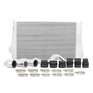 Mishimoto Intercooler Kit Fits Chevrolet 6 6l Duramax 2011 2016 Silver