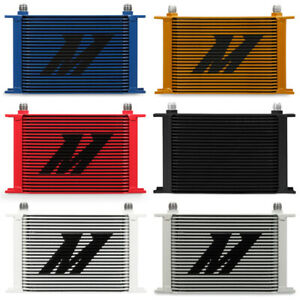 Mishimoto Mmoc 25rd Universal 25 Row Oil Cooler Red