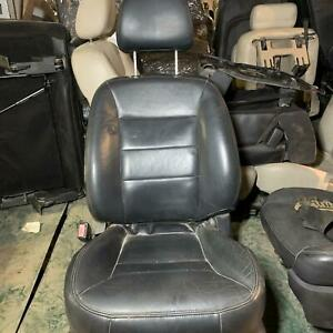 2002 Ford Escape Driver Left Front 6 Way Power Leather Seat Ebony Black