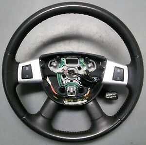 2007 2008 2009 Dodge Nitro Steering Wheel Charcoal Gray With Control Switches