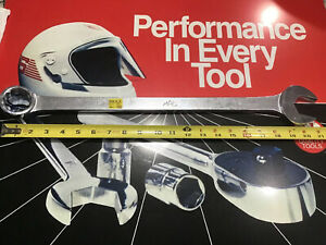 Mac Tools 1 7 16 Open End Box End 12 Point Wrench Cl46