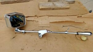 1955 1956 Lincoln Merc Unity H2 lm Left Spotlight Mirror 106l Bracket Original