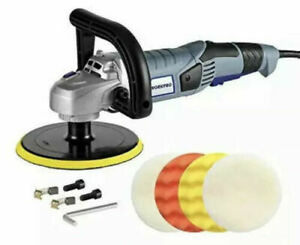 Car Polisher 7 inch Variable Speed Buffer Waxer 4 Buffing And Polishing Pads