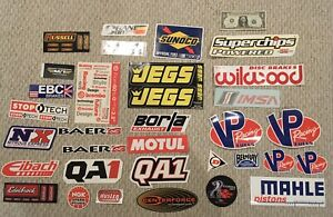 Racing And Performance Sponsor Big Stickers Decals Brembo Imsa Ford Dunlop Vp