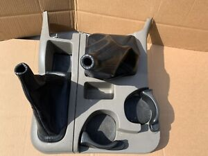 02 05 Dodge Ram Floor Shifter Console Cup Holder 4x4 Taupe