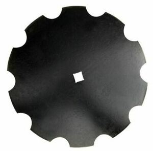 24 Notched Disc Blade