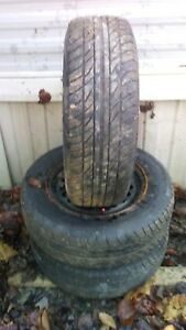 15 Inch Wheels And Tires Set Of 3