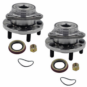 Pair 2 Front Wheel Hub Bearing Assembly Left Right For Cavalier Grand Buick
