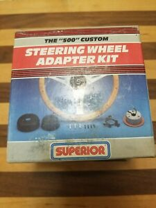 Vintage 500 Superior Horn Adapter Kit Steering Wheel 86 4650 Horn B1