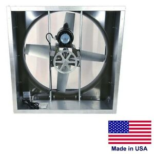 24 Cabinet Exhaust Fan 4 190 Cfm 115 Volts 1 Ph 1 3 Hp Belt Driven