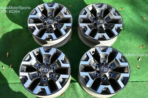 16 Toyota Tacoma Oem Factory Trd Offroad Wheels 4runner Tundra 2020
