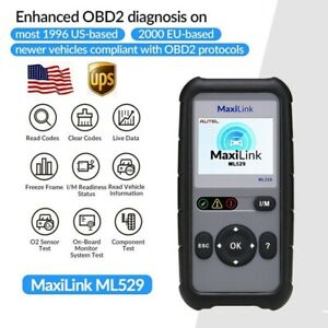 Autel Maxilink Ml529 Car Scan Tool Automotive Car Code Reader Diagnostic Scanner