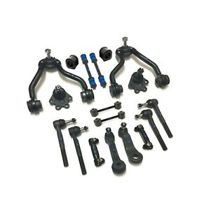 19 Pc Control Arms Inner Outer Tie Rod End Kit For Chevrolet Blazer Gmc Yukon