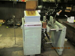 Dynamic Balancing Machine W updated Electronics From Tubes To Solid State Used