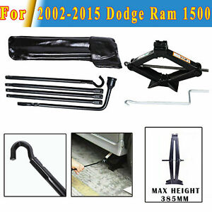For 2009 2010 2011 Dodge Ram 1500 Tire Replacement Tool Set Scissor Jack New