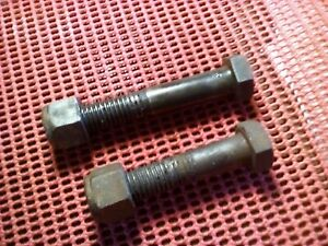 Meyer Snow Plow Parts Pump Mount Bolts Nuts Upper Lower Good Used