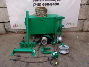 Greenlee 6001 6500 Lbs Super Tugger Cable Puller Works Great 2 10