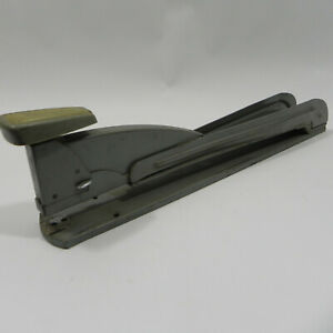 Vintage Swingline No 4 Long Reach Heavy Duty Industrial Stapler Coalation