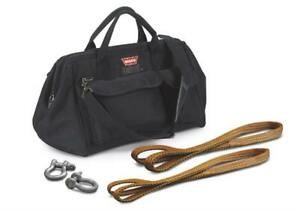 Warn Winch Accessory Kit Pullzall Bag 2 Shackles 2 Straps Kit