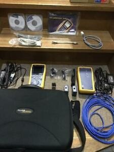 Fluke Dtx Cable Analyzer Dtx 1800 Outdoor Used Maintenance Tool Box