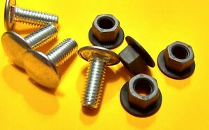 Nos Mopar Bumper Bolts Nut 8 Pc Kit Plymouth Dodge A B E Duster Cuda Belvedere