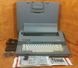 Vintage Smith Corona Typewriter Grammar Right System I Sd 275 Model 5p