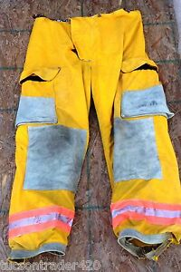 Janesville 40x30 Pants With Liner Firefighter Turnout Bunker Gear Body Guard